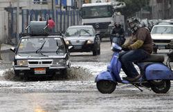 Наводнение спровоцировало крупную аварию в Египте