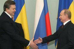 Путин предложил Януковичу расширять военное сотрудничество