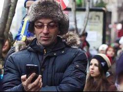 """На Майдане в Киеве работают """"мобильные пираты"""""""