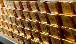 Золото на максимуме 1338,80 на фоне слабости курса доллара на Форексе
