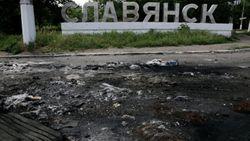 Парубий: к силовикам в Славянске прибыло подкрепление