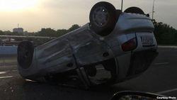 По вине бывшего сотрудника милиции в автоаварии в Узбекистане погиб человек