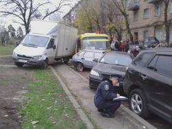 В Киеве водитель-наркоман маршрутки задавил водителя грузовика
