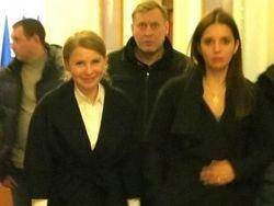 Юлия Тимошенко вернулась в Украину бизнес-классом