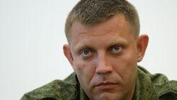 Некто Захарченко обещает прекращение огня на Донбассе
