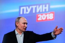 Триумфальный победитель выборов Владимир Путин