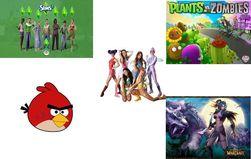 Определены самые популярные игры для девочек в Одноклассники