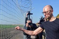 «Стена» на границе с Россией превратилась в «Линию достоинства»