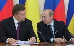 Путин-Янукович: Вопрос о вступлении Украины в ЕС или ТС не поднимался