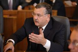 Гриценко требует признания факта российской агрессии