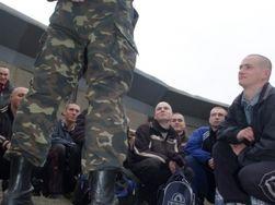 На последний призыв в армию Украины – аншлаг призывников