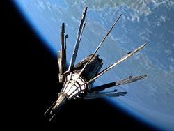 На орбиту выведен первый украинский наноспутник