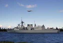 Канада направила в Черное море боевой корабль