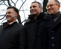 """Вожди Евромайдана настаивают на создании """"временного правительства"""""""