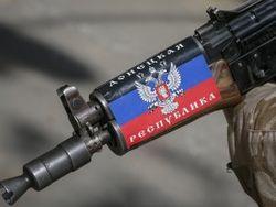 Бойцы украинской армии в плену у террористов