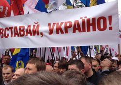 Евромайдан в Донецке проголосовал за отставку Януковича и Азарова