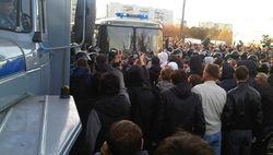 Бизнес на крови: мигранты снова рвутся на овощебазу в Бирюлево раньше полиции