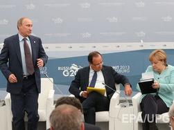 Меркель и Олланд призывают Путина уговорить сепаратистов на перемирие