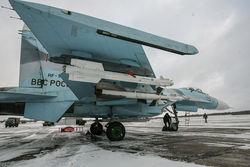 Росийские истребители на авиабазе в Беларуси