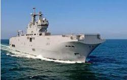 Российские моряки обживаются на французском «Мистрале»