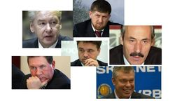 82 самых популярных главы регионов РФ в июле 2014г. в Интернете