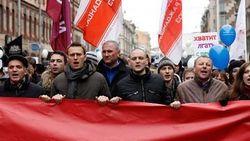 """Российская оппозиция хочет провести в Москве """"Марш мира и свободы"""" 19 апреля"""