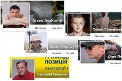 Названы популярные аккаунты политиков и блогеров Украины апреля 2017 г. в Facebook