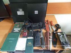 Пограничники задержали двух россиян с таблицами для стрельбы из гаубиц
