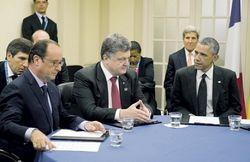 Мирные планы Путина и Порошенко не совпадают