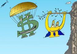 Трейдеры рассчитали среднесрочные перспективы валютной пары евро/доллар