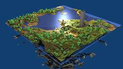 Стали известны все натуральные структуры в Minecraft