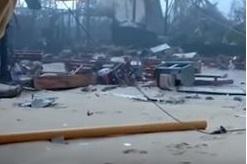 В Сети показали разрушенный ураганом остров миллиардера