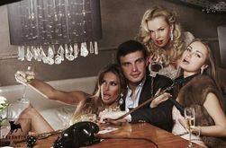 Политика и PR: в Украине депутат с девицами в ошейниках рекламирует ночной клуб
