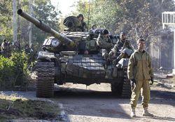 В штабе АТО опровергли слухи о танковой атаке на террористов