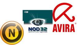 Nod32, Norton и Avira названы самыми популярными антивирусами в Одноклассниках