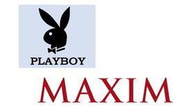 Playboy и Maxim названы самыми популярными глянцами в Интернете