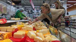 Иностранные сыры заполняют российский рынок