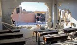 Россия назвала монтажом кадры разбомбленной школы в Сирии