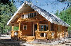 Дома из сруба набирают популярность в сентябре 2014г. в Рунете