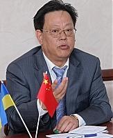 Посол Китая в Украине Чжан Сиюнь