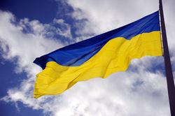 В захваченном сепаратистами Алчевске на трубе котельной взвился флаг Украины