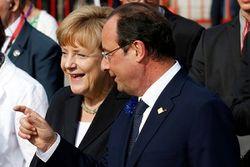 Меркель и Олланд снова призвали к миру на Донбассе