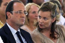 Президент Франции Олланд объявил о разрыве отношений с первой леди