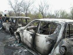 МВД назвала перестрелку в Славянске начавшейся враждой бандитских группировок