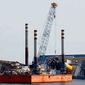 Подготовка к подъему Costa Concordia