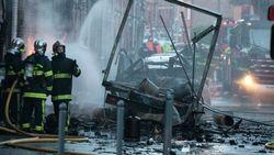 Во Франции взорвался грузовой автомобиль – последствия