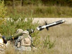 Под Донецком в машину с репортерами попала ракета ПТУР