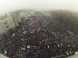 Блогер-математик опроверг цифру о 300 тысячах собравшихся на Евромайдане