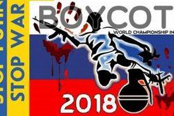 Украинцев призывали к бойкоту ЧМ-2018 в России