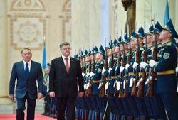 Президенты Украины и Казахстана встретились в Астане